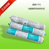 Curación rápida de Dow Corning 791 Sellador de silicona resistente al agua neutra