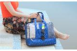 Le donne che nuotano il costume da bagno impermeabile femminile del sacchetto insacca il sacchetto di raccolta trasparente secco ed umido di nylon del sacchetto della spiaggia del raggruppamento dello Swimwear X81wa