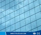 대양 파랑 사려깊은 유리 단단하게 한 또는 색을 칠한 플로트 유리