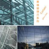 Branca di vetro del collegamento della parete divisoria dell'acciaio inossidabile di grado