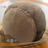 Perruque médicale de cheveux humains de longueur d'épaule (PPG-l-0460)