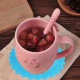 Resisitant de chaleur en silicone antidérapant tasse tasse de thé tapis Coasters