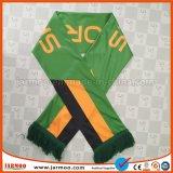 Вентилятор футбола связал напечатанный полиэфиром шарф футбола