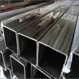 Ornamentales pulido tubería de acero inoxidable cuadrada