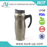 Doux au toucher de l'eau Thermos tasse avec manche antidérapant (MSAD)
