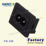 Soquete da C.A. da potência do Pin C8 da segurança 2