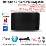 """Unieke Verkoop 5.0 van de Fabriek """" GPS van de Huivering het Systeem van de Navigatie met Bluetooth aV-in de Functie van de Gastheer van isdb-t Tmc USB"""