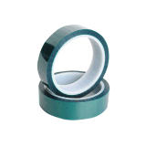 Band op hoge temperatuur van het Huisdier van het Silicone van de Weerstand van de Polyester de Zelfklevende Groene