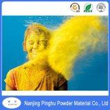 Elevada resistência a produtos químicos de revestimento e pintura a pó amarela
