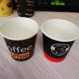 7oz sanos disponibles borran la insignia modificada para requisitos particulares de papel de las tazas de té