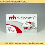 Cartão chave porta Feitas com plástico para Magnético Inn