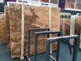 Imperial veine du bois en marbre poli