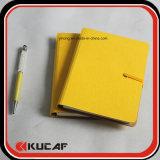 Customized PU Diário Notebook 2019 com caneta