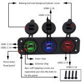 Разъем морской автомобиля зарядное устройство USB разъем и разъем прикуривателя прикуривателя