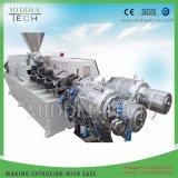 La Chine ensemble de la prix de vente du plastique PVC/UPVC deux cavités tuyau flexible/tube/Extrusion d'équipements