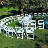 Résine blanche de Morden pliant la présidence extérieure Hly-RS050 de mariage