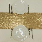 Corredor de plata del vector del cequi del oro de Decoraiton de la boda de la Navidad del banquete del partido del acontecimiento de la boda