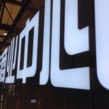 3D Cartes lumineux à LED pour la publicité But des lettres au néon