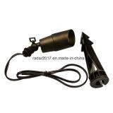 새로운 조경 전등 설비 12V 금관 악기 반점 빛 IP65