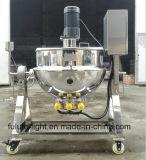 Todo o misturador Jacketed da chaleira do aquecimento de vapor do aço inoxidável com agitador