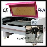 De dubbele Snijder van de Laser van Co2 van de Efficiency met FDA van Ce