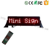 LED de señalización Coche Auto display LED Mini valla