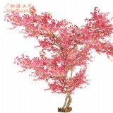 Árvores para decoração de casamento interior artificial de plástico Cherry Blossom Tree
