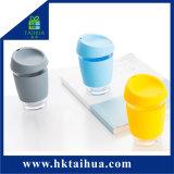 Varia cassa del silicone di Anti-Calore di colore per la bottiglia di acqua di vetro della paglia e del Carafe