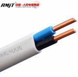Bainha em PVC com isolamento de PVC fio plana--H03VV-F, H05VV-F