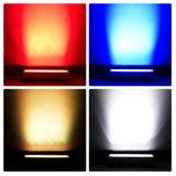 12PCS 3Wの高い発電RGB LEDの壁の洗濯機ライト