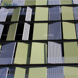 Fluorocarbure de haute qualité de la pulvérisation mur rideau sculpté de bord pour plafonds