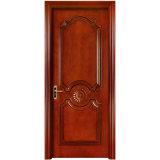Madera maciza de alta calidad/MDF Puerta de seguridad para el interior de la puerta (YH-2051-1)