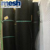 El color verde agujero hexagonal malla de alambre plano de plástico