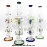 18 Zoll Glaswasser-Rohr-Recycler-rauchende Wasser-Rohr-für 420/710 Rauch