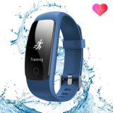 ID107 più il tester astuto astuto di sport di forma fisica della fascia di Horloge Hartslag GPS del pulsometro dell'inseguitore di Activiteit del bracciale del braccialetto di ora