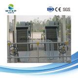 De Filter van de roterende die Trommel wijd in het Stedelijke Filtreren van de Riolering van de Industrie wordt gebruikt
