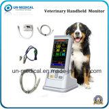 Video veterinario tenuto in mano dell'ossimetro di impulso del video NIBP+SpO2+Temp