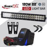 22 дюйма прямой светодиодной подсветки бар и кронштейны для крепления бампера 2003-2014 Dodge RAM