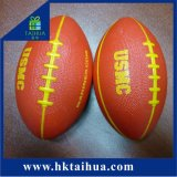 Estresse de PU Bola, PU Rugby, PU futebol, PU Futebol Americano Bola de estresse para a promoção
