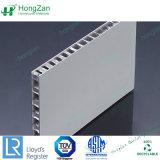 Mur intérieur et extérieur de l'utilisation de panneaux alvéolaire en aluminium