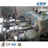 Venta caliente de la línea de extrusión de tubo de PVC doble