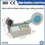 Tagliatrice elastica del calcolatore del nastro della taglierina del nastro caldo automatico della tessitura