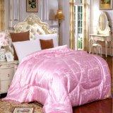 100% шелка цвета Белый хлопок кровать лист Satin плоских листов одеялом крышки