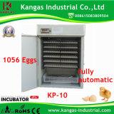 Incubateur commercial complètement automatique d'oeufs pour 1056 oeufs