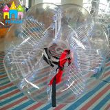 Finego TPU PVC膨脹可能なおもちゃの気が狂った泡Bocce球ボディバンパーの球