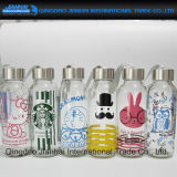 Karton-Entwurfs-bunte Glaswasser-Flasche für Kinder