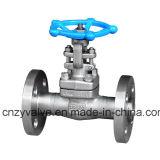 """API602 Class600 1 1/2 """" A105 forjou a válvula de porta de aço da flange (Z41H-DN40-600LB)"""