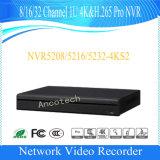 Registratore del CCTV della Manica 1u 4k&H. 265 di Dahua 8 PRO (NVR5208-4KS2)