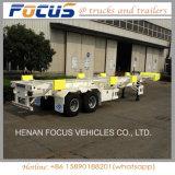 Acoplados resistentes del contenedor para mercancías del carro del alimentador semi para transportar
