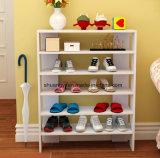 현대 백색 거실 가구는 공간 홈을%s 목제 단화 Cabient 단화 선반을 저장한다
